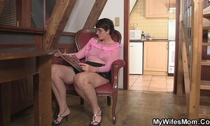 Horny mother-in-law needs new wang