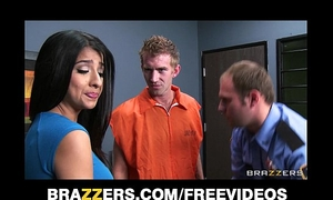 Megan salinas gives a conjugal visit to a large dicked brit